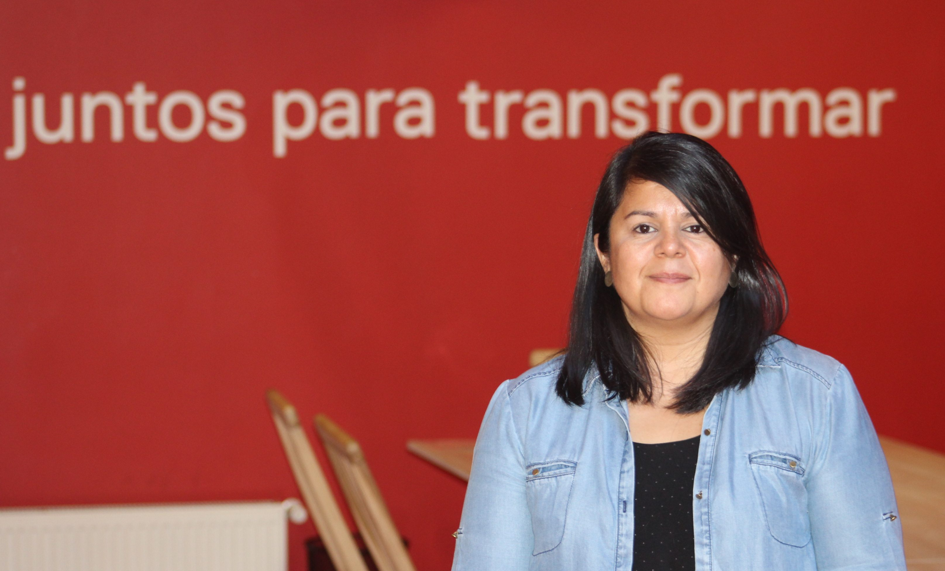 Marcela Guillibrand, Directora Ejecutiva de la Red de Voluntarios de Chile.