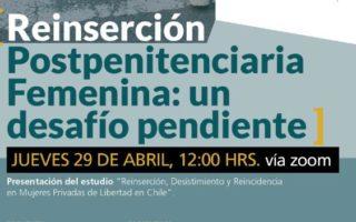 estudio Reinserción Postpenitenciaria Femenina: un desafío pendiente