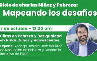 Junto al PNUD, Colunga da inicio a ciclo de charlas sobre niñez y pobreza en Chile